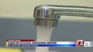 NC schools get failing water-quality grades due to lead in water