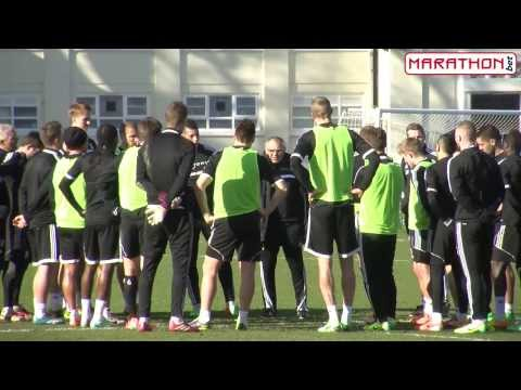 Felix Magath discusses his first session as Fulham Manager