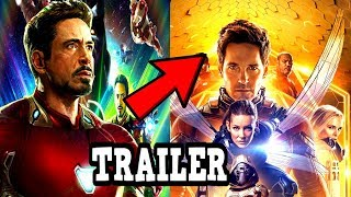 Ant-Man & The Wasp Avengers 4 Trailer! Post Credit Scene THEORY CONNECTION To Avengers 4