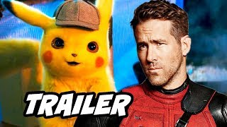 Detective Pikachu Official Trailer - Ryan Reynolds Pokemon Easter Eggs