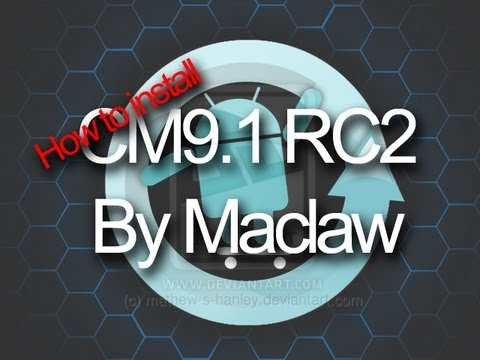How to install CyanogenMod 9.1 RC2 on your Samsung Galaxy Ace