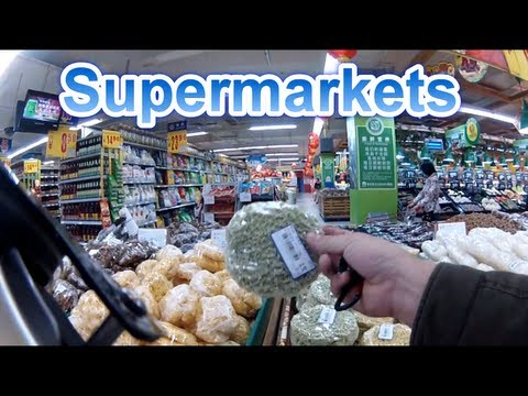 China, How it is - Supermarkets