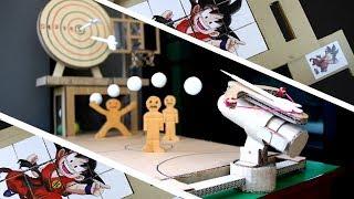 6 удивительных картонных игр которые вы можете сделать дома