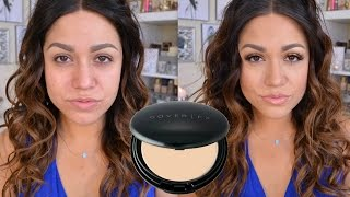 Cover FX Total Cover Cream Foundation Demo & Review