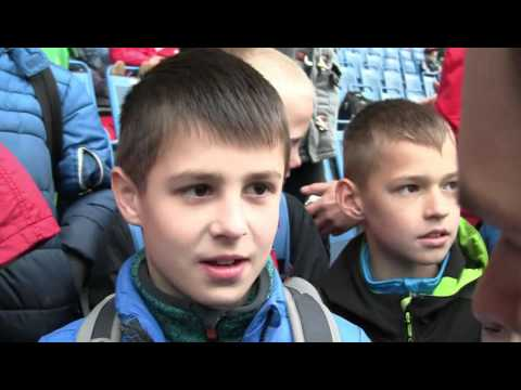 Otevřený trénink FK Teplice pro školy (27.4.2016)