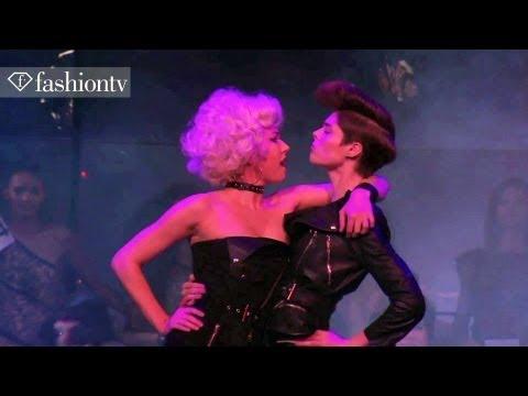Jean Paul Gaultier S/S 2014 ft Coco Rocha and Karlie Kloss | Paris Fashion Week PFW | FashionTV