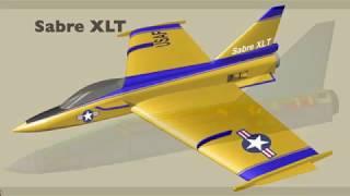 Sabre XLT RC Jet Gary Jones