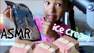 ASMR Astronaut ICE CREAM!!!! *Extreme CRUNCHY Eating Sounds* NO TALKING