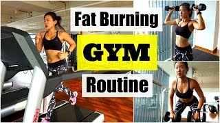 My Fat Burning GYM Routine Treadmill Interval Running