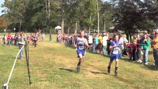 Cross Country at Berry College, Model High School and Middle School, Coosa, Pepperell,10-2012