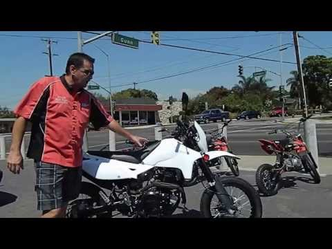 SSR XF250 250cc ENDURO and MOTARD COMPARISON VIDEO by HIGH STYLE MOTORING