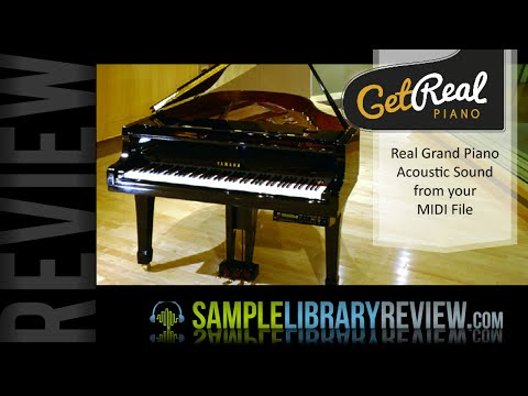Review GetRealPiano.com service Capture your MIDI as a real grand piano perfomace audio file