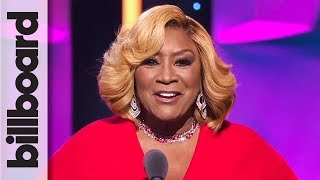 Patti LaBelle Introduces Woman of the Year Recipient Ariana Grande | Women in Music