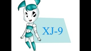XJ-9 chibi Speedpaint by Derpy star