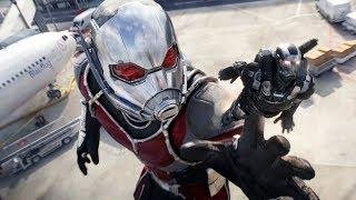 Ant-Man Becomes Giant-Man - Airport Battle Scene - Captain America: Civil War - Movie CLIP HD