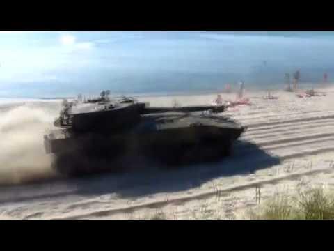 Militar - Tanques en la playa