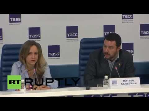 Russia: 'The EU is not interested in Italy,' says Northern Leagues Salvini