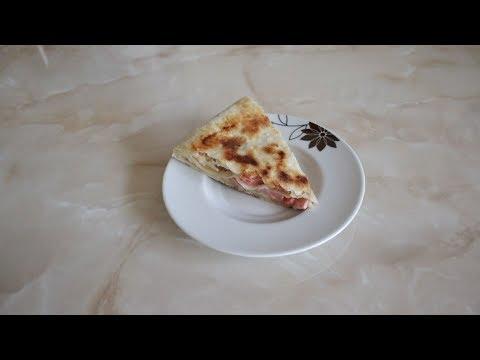 Пирог из лаваша  Быстрый СЛОЕНЫЙ ПИРОГ на сковороде.