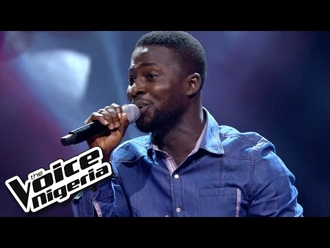 Patrick sings 'You andI' / Blind Auditions / The Voice Nigeria 2016