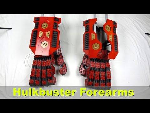 XRobots - Iron Man Hulkbuster Cosplay Part 8, Forearms and Weapon Pods