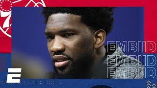 Joel Embiid 2020 NBA All-Star Media Day Interview | NBA on ESPN