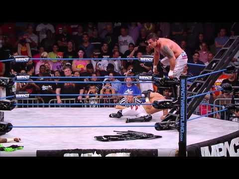 Match #3 of Tag Title Series: The Wolves vs The Hardys vs Team 3D (Sept. 17, 2014)