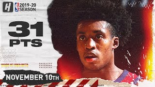 Collin Sexton Full Highlights vs Knicks (2019.11.10) - 31 Pts, 2 Ast, 2 Reb!