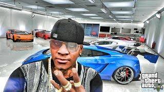 GTA 5 REAL LIFE MOD #592 - CAR GARAGE!!! (GTA 5 REAL LIFE MODS)