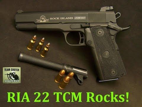 RIA 22 TCM 1911 Pistol ROCKS