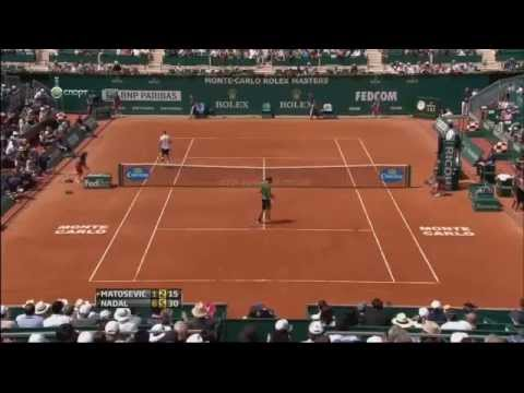 Rafael Nadal vs. Marinko Matosevic - ATP Masters Monte-Carlo 2013 - Highlights 17.04.2013