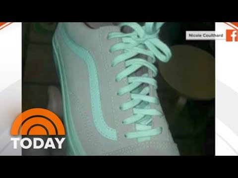 New Color Controversy Roils Internet: What Color Are These Sneakers? | TODAY