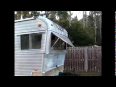 Vintage Camper Remodel Holiday Rambler