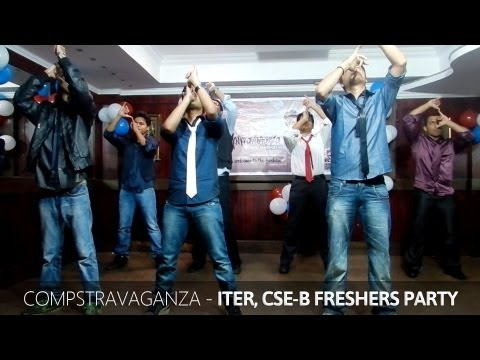 Expressionless Funny College Dance Performance - ITER Freshers...