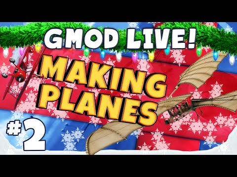 GMod Planes Livestream Part 2 - Tank Plane Music Videos