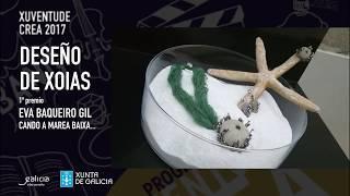 Gañadores Deseño de Xoias Xuventude Crea 2017
