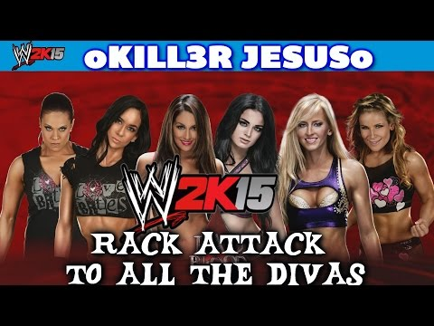 WWE 2K15 DLC New Moves Pack - Nikki Bella RACK ATTACK TO THE DIVAS ROSTER I PS4 / XBOX ONE