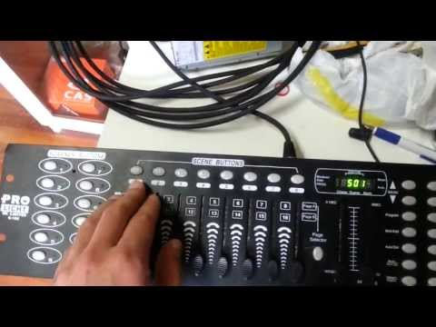 Configuração DMX-512 Dip Switches Configuration of DMX-512