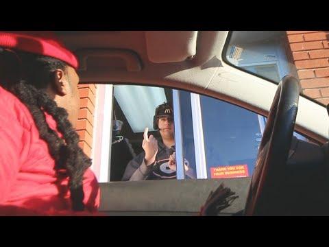 Blasting MOANING NOISES At The Drive Thru PRANK