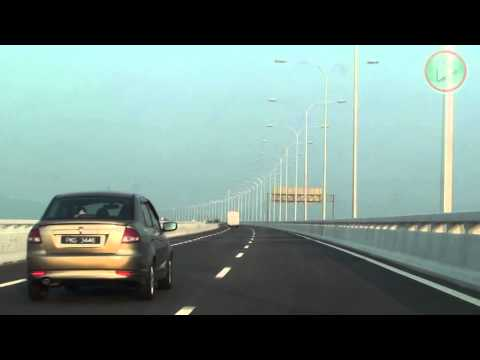 Penang 2nd Bridge - the longest bridge in South East Asia