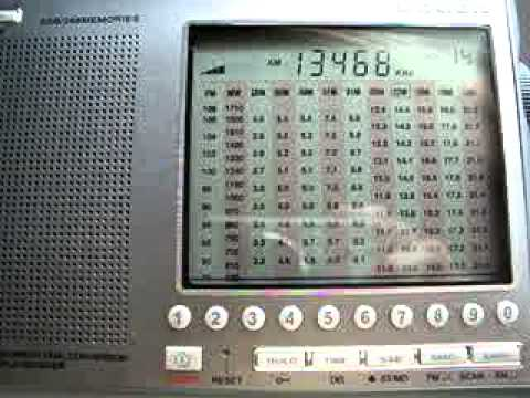 Number Station E07 13468KHz