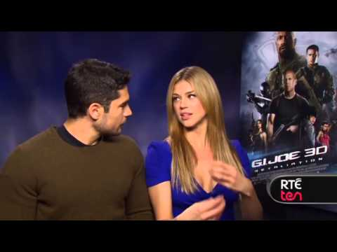 RTÉ TEN: Interviews with cast of G.I Joe: Retaliation