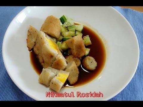 Resep Mpek mpek Palembang