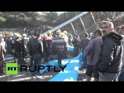 Turkey: Mine collapse leaves over a dozen trapped in Ermenek