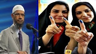 Intelligent Girl Trying To Defeat Dr Zakir Naik 2016 (Most Informative Q & A) dr zakir naik won !