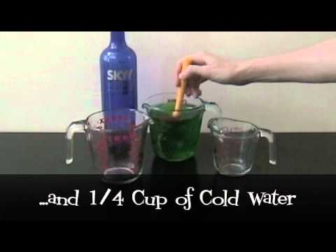 How to Make Creepy Crawler Jello Shots