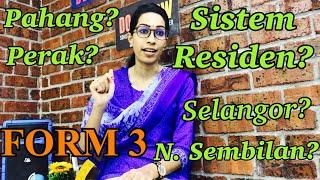 Download Bab 3 Pentadbiran Negeri Negeri Melayu Bersekutu Nnmb Sistem Residen Sejarah Tingkatan 3 Mp3