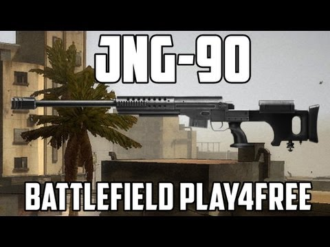 Battlefield Play4free JNG-90 Gun Review