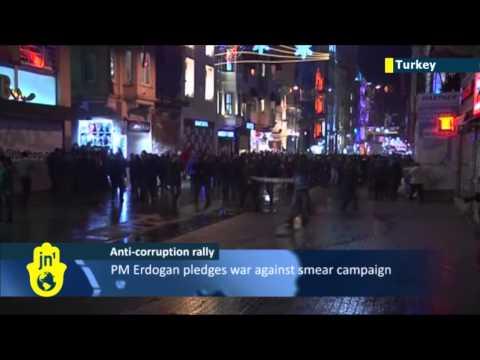 Turkey rocked by anti-corruption protests: PM Erdogan slammed over high-level corruption scandal