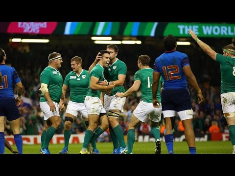 France v Ireland - Match Highlights and Tries - Rugby World Cup