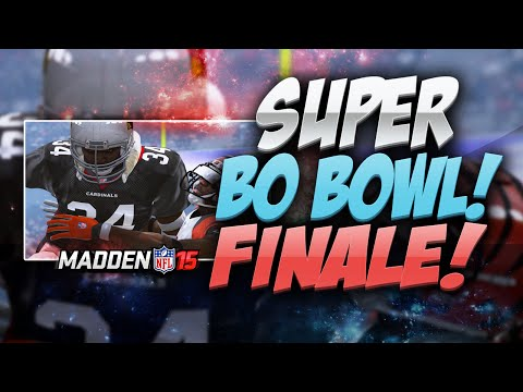 Madden 15 Ultimate Team - SUPER BO BOWL FINALE! BO JACKSON SAFETY WOW! MUT 15 PS4